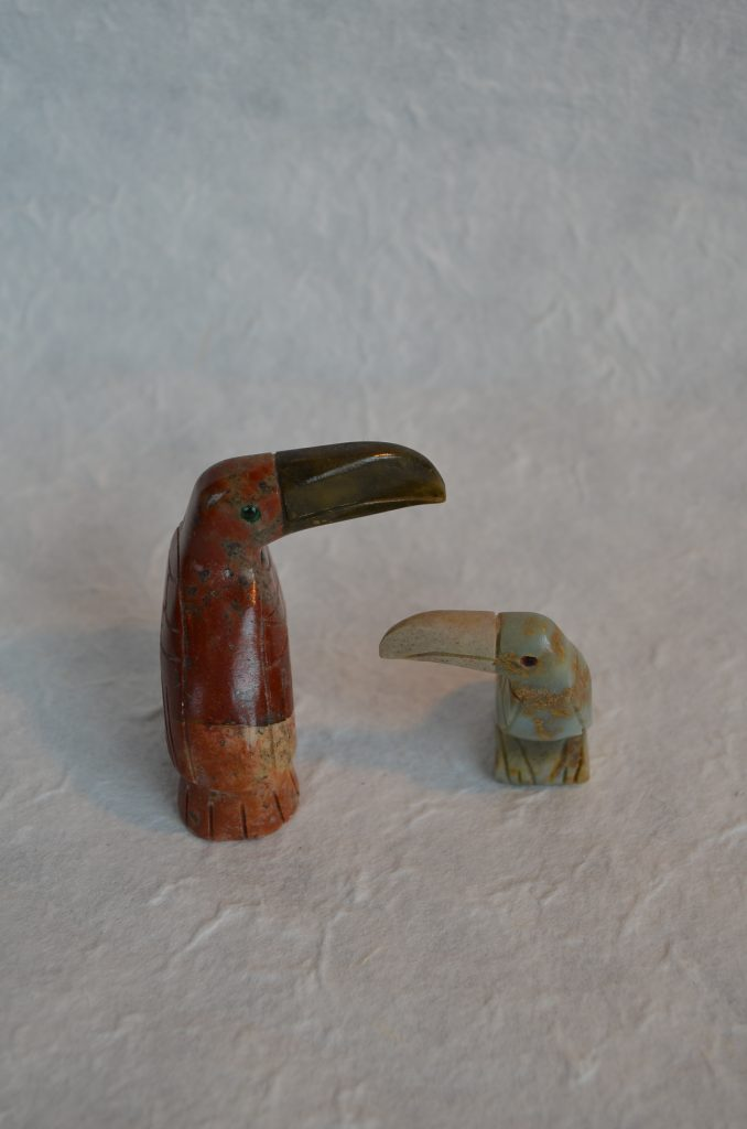石の鳥さんセット