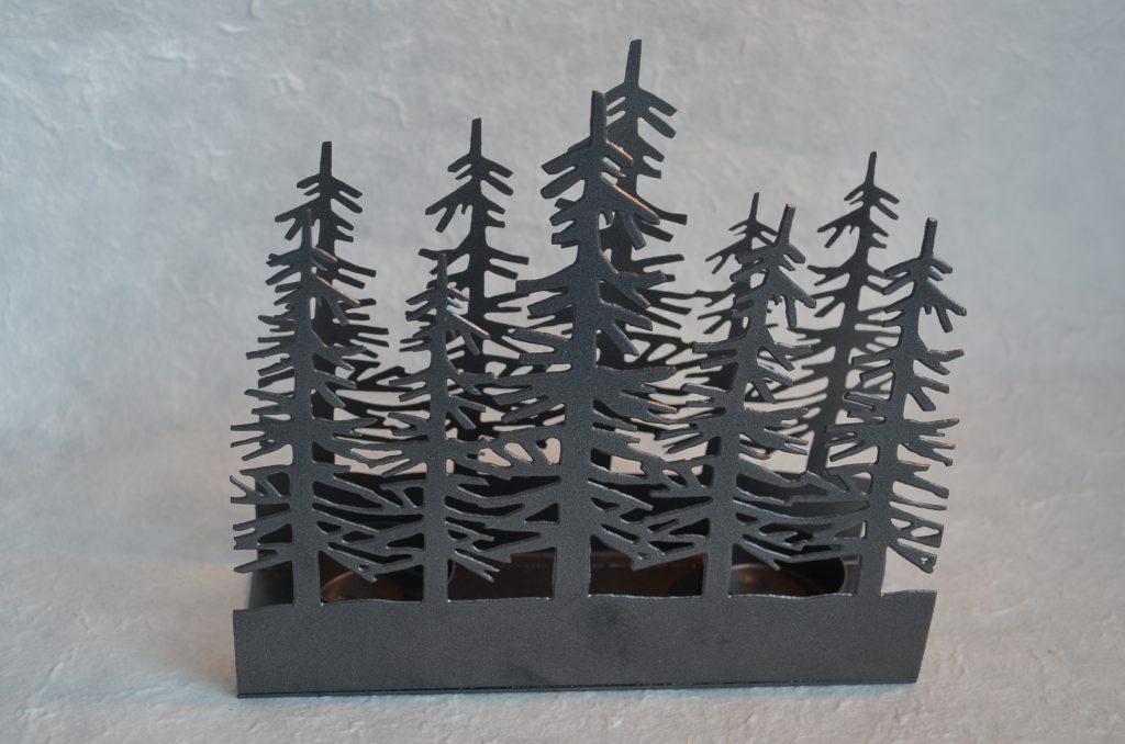 木のシルエット アロマスタンド