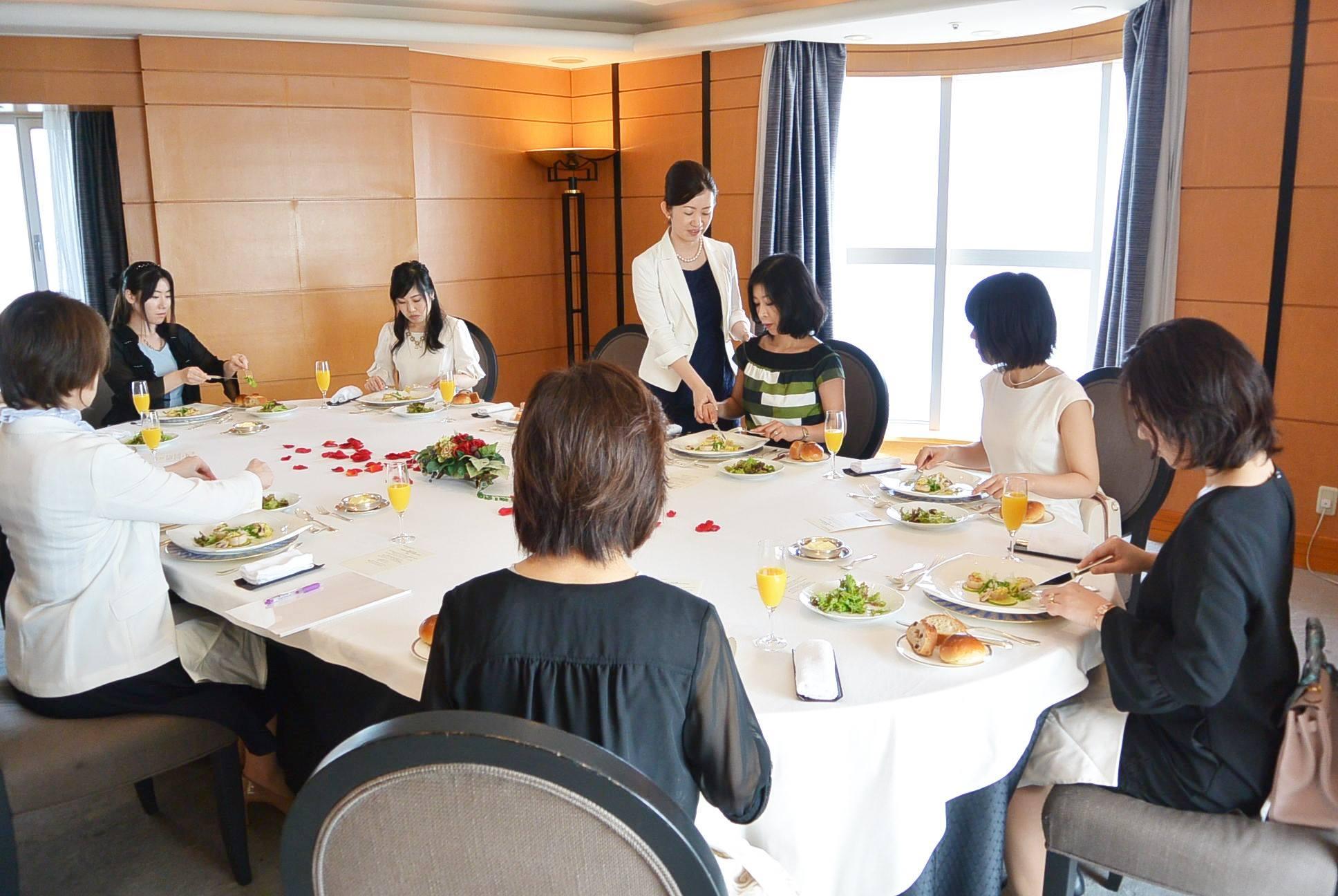 横浜マナー講座