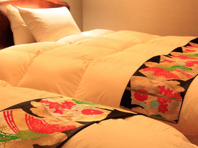 【オーダー】アンティーク帯(または想い出の帯)ベッドスロー or  テーブルランナー
